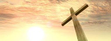 cross, religion symbol shape