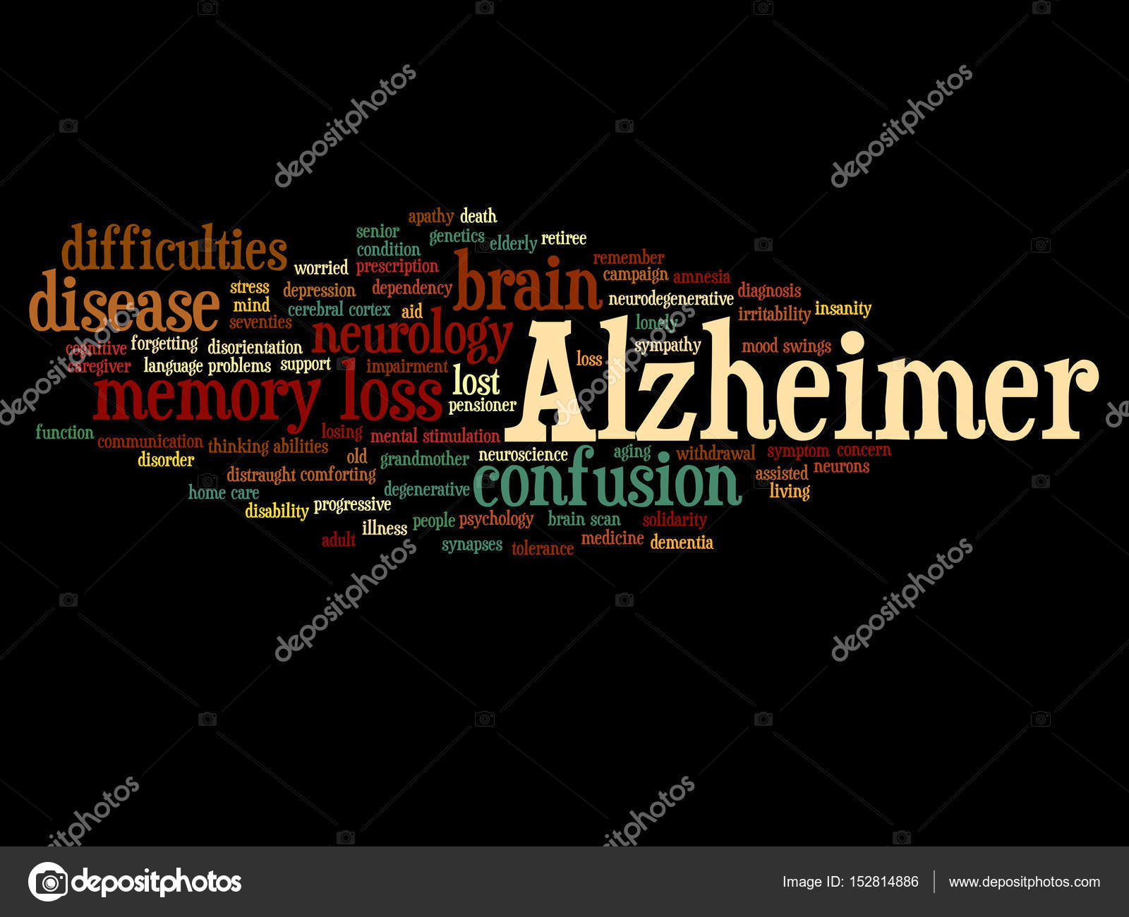 Concetto di malattia di alzheimer foto stock design36 for Concetto aperto di piani coloniali