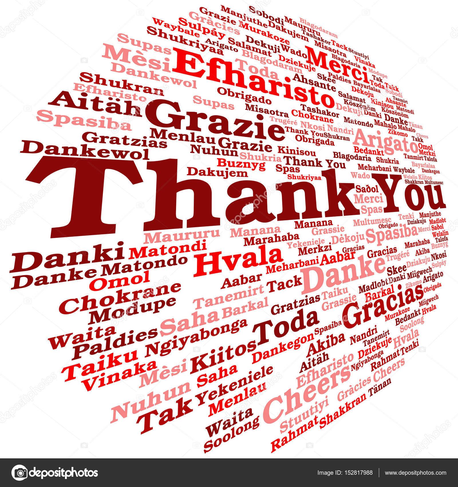 Nube de palabra de Resumen gracias — Foto de stock © design36 #152817988