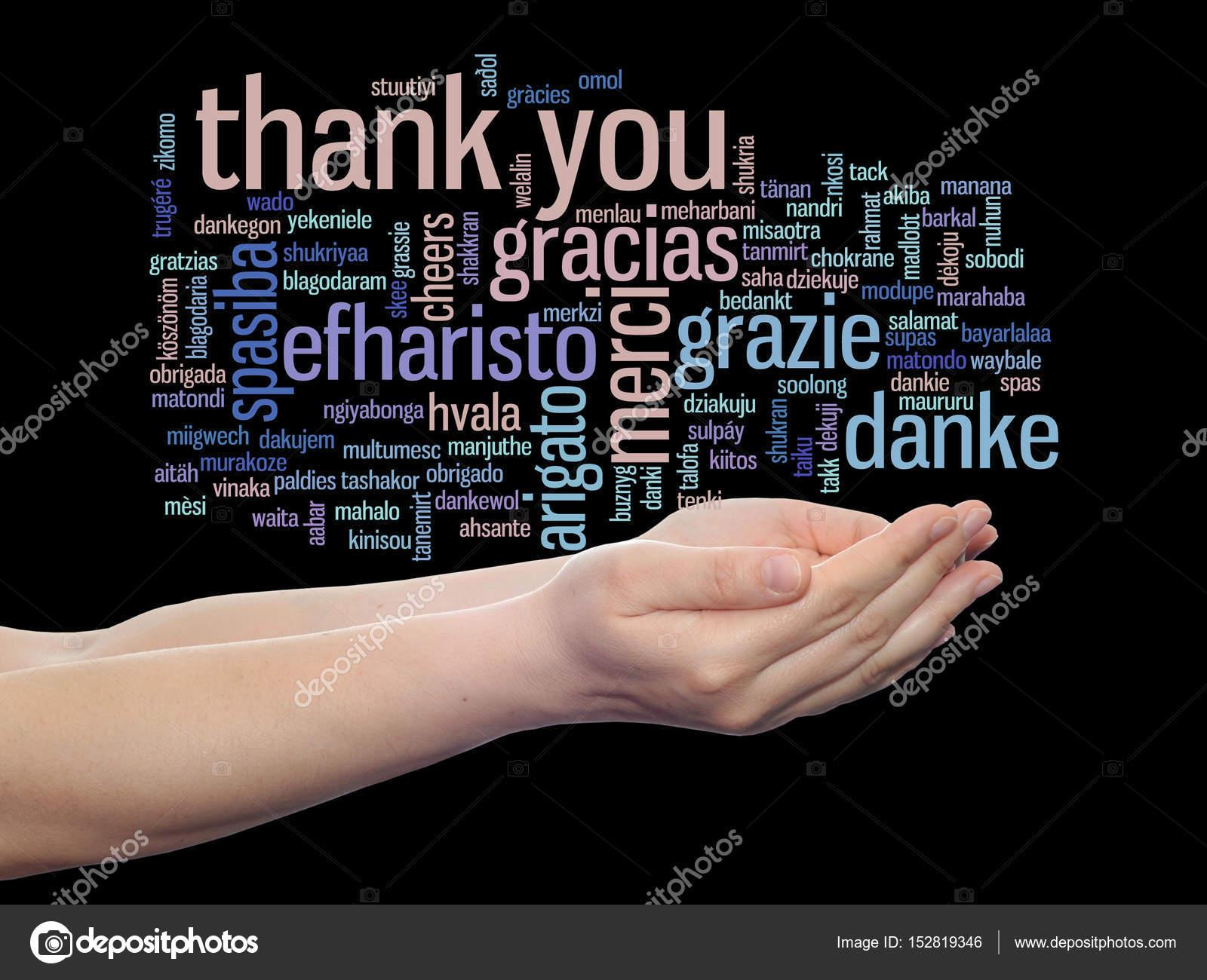 Nube de palabra de Resumen gracias — Foto de stock © design36 #152819346