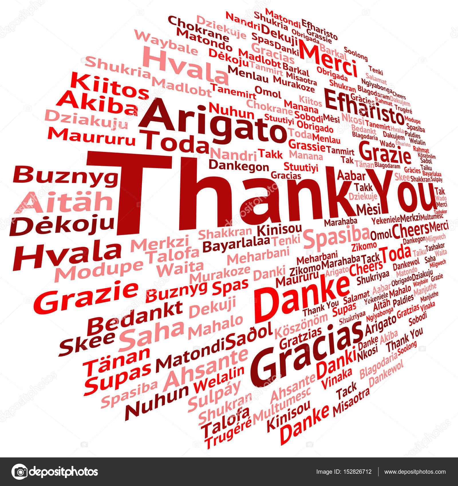 Nube de palabra de Resumen gracias — Foto de stock © design36 #152826712