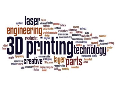3D printing creative laser technology