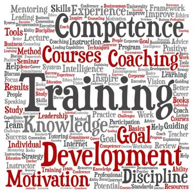 conceptual training, coaching or learning