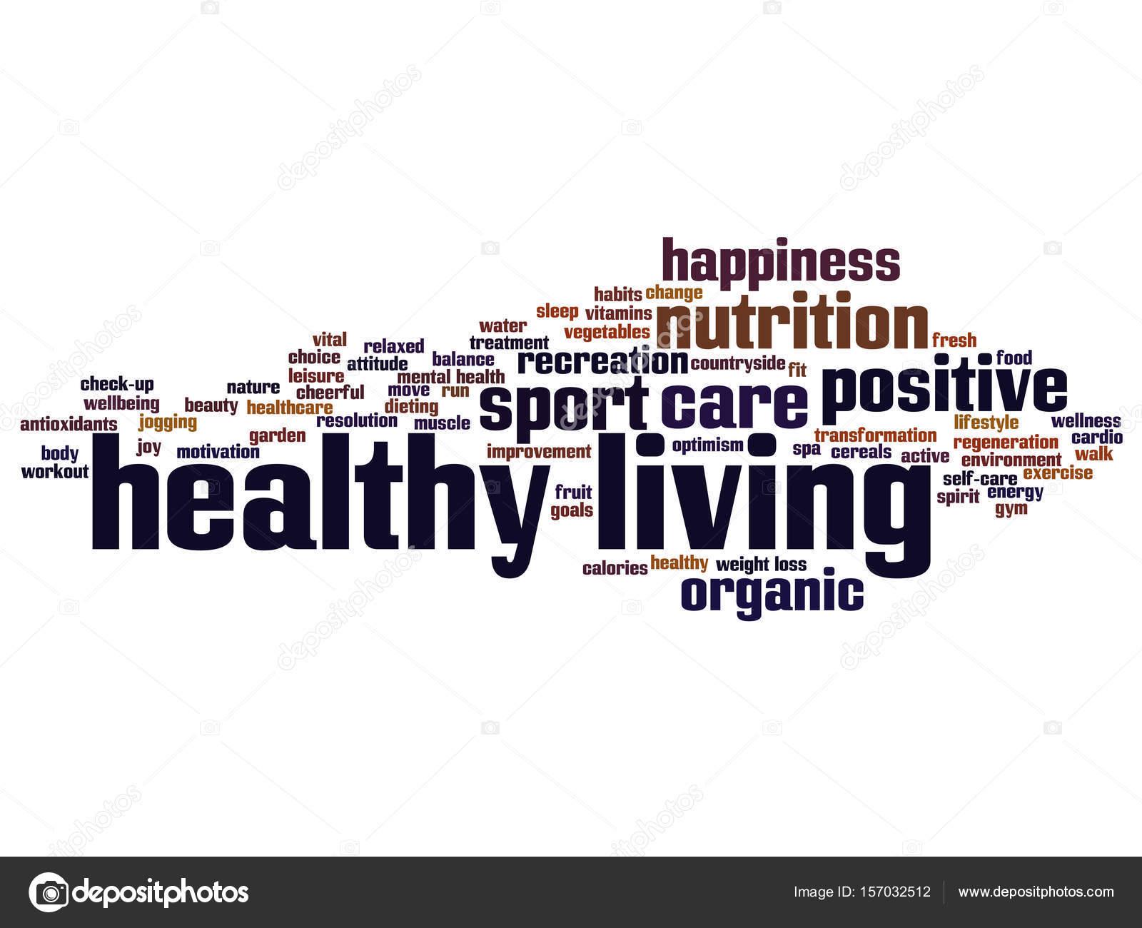 nube de word Resumen de nutrición o deporte — Foto de stock ...