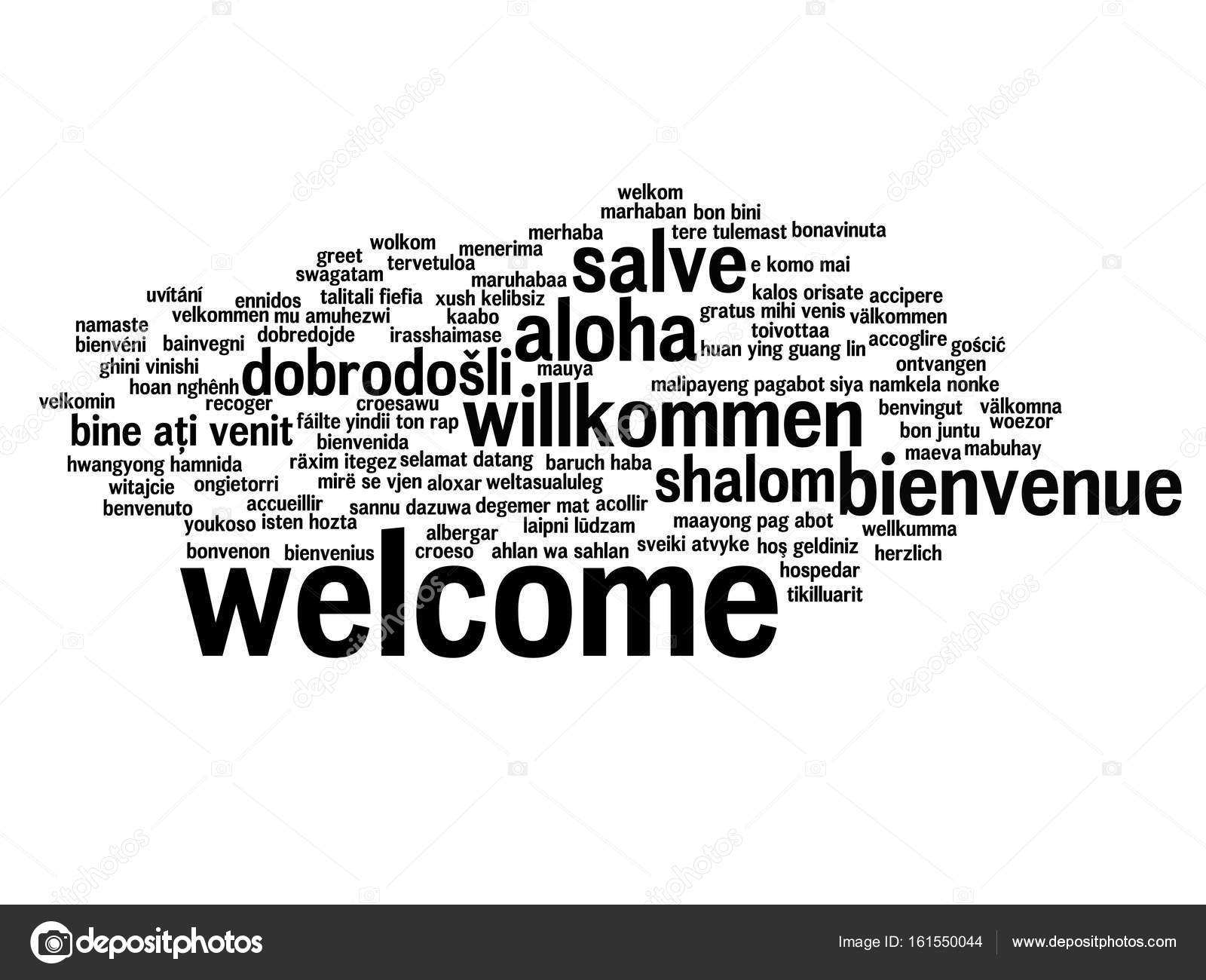 Welcome Multi Language Stock Vectors Royalty Free Welcome Multi