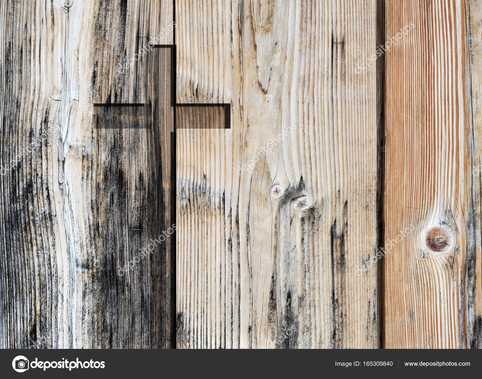 La Credenza Religiosa : Simbolo di religione cristiana vecchio marrone croce forma come