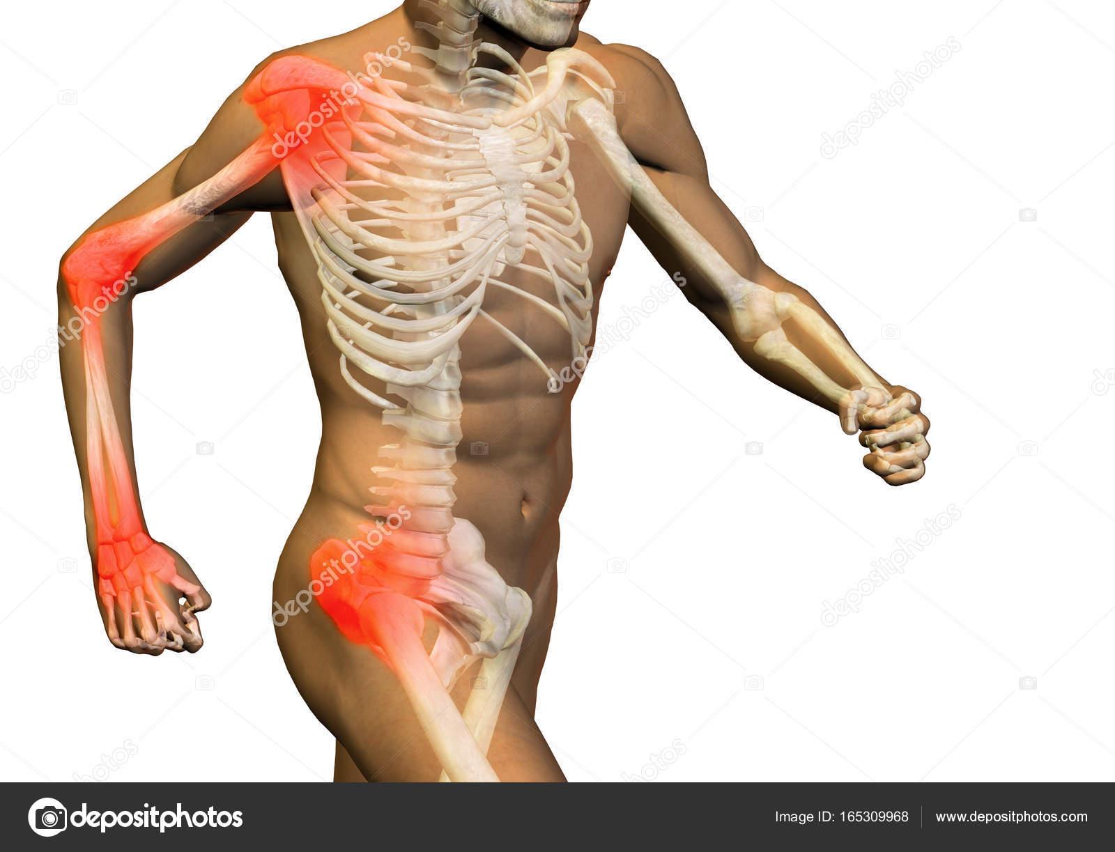 Conceptual diseño salud anatomía humana hombre de ilustración 3d ...