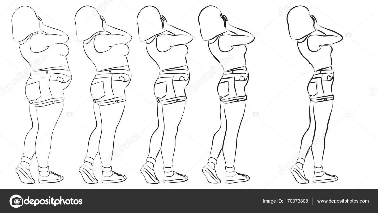 Imágenes Sobrepeso Y Obesidad Para Colorear Fitness Nutrición O