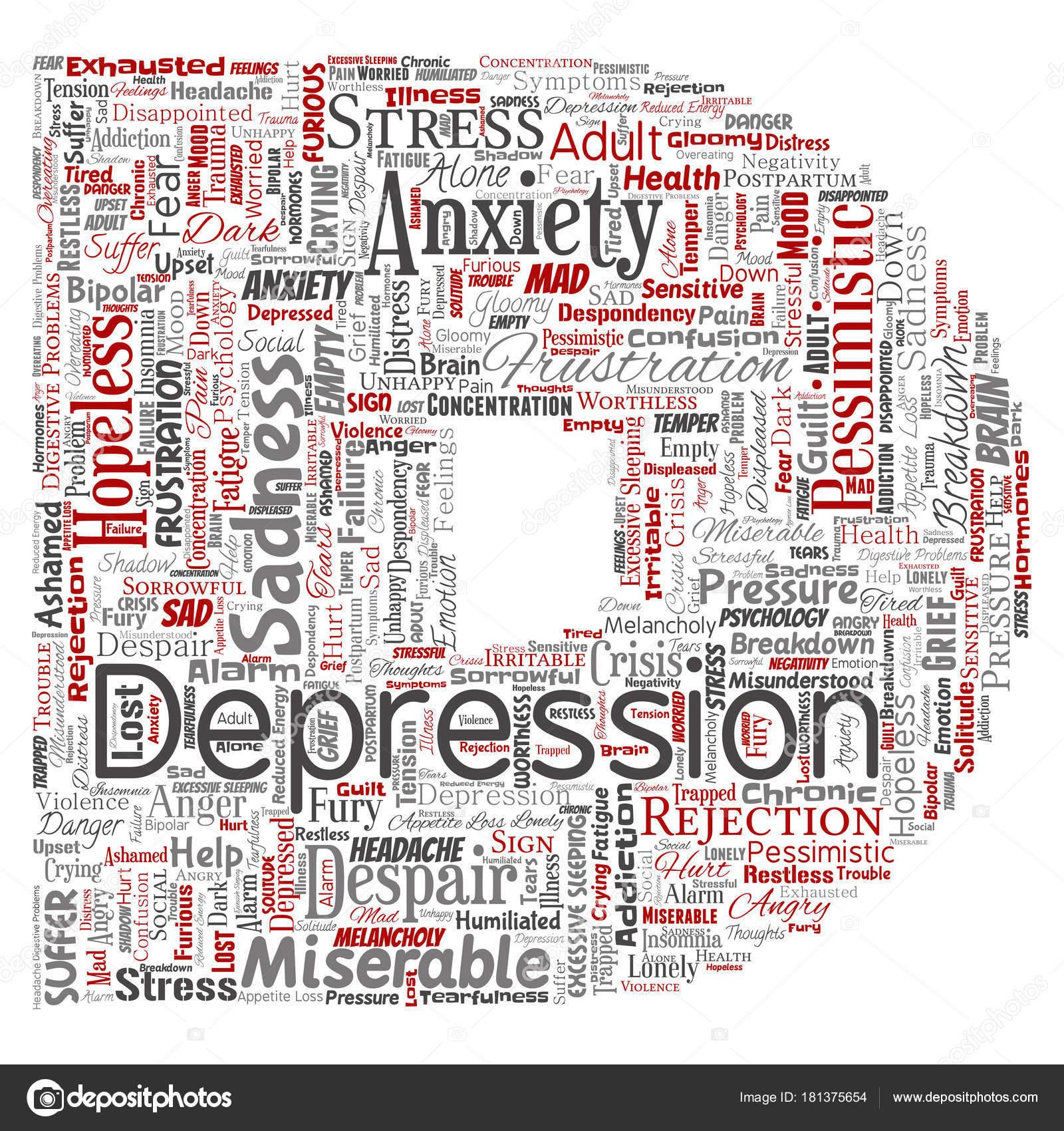 Conceptuelle Dépression Trouble émotionnel Mental Problème