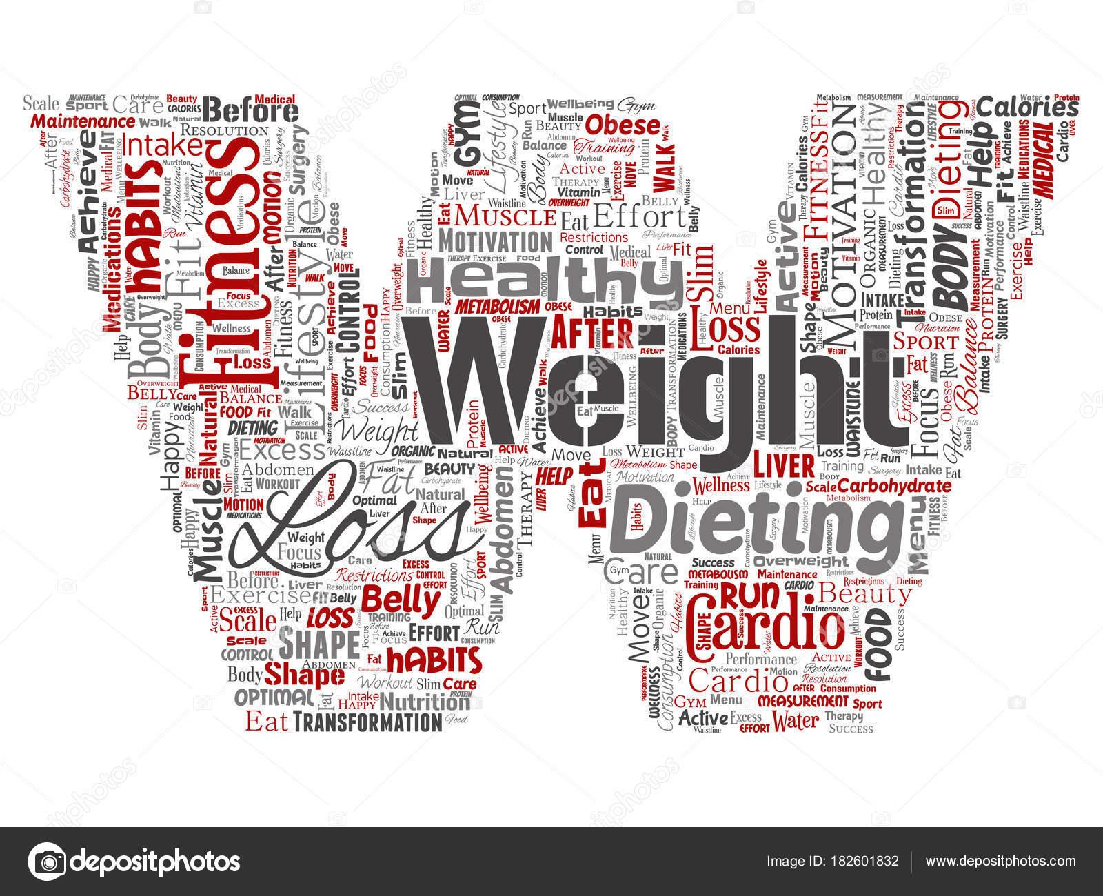 perdida de peso palabra medical