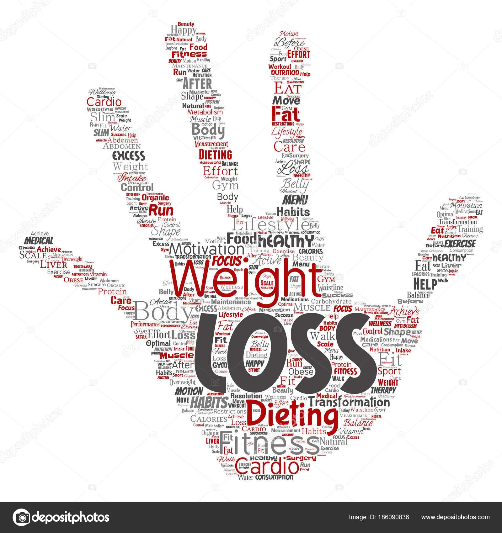 vettore senza sfondo di perdita di peso