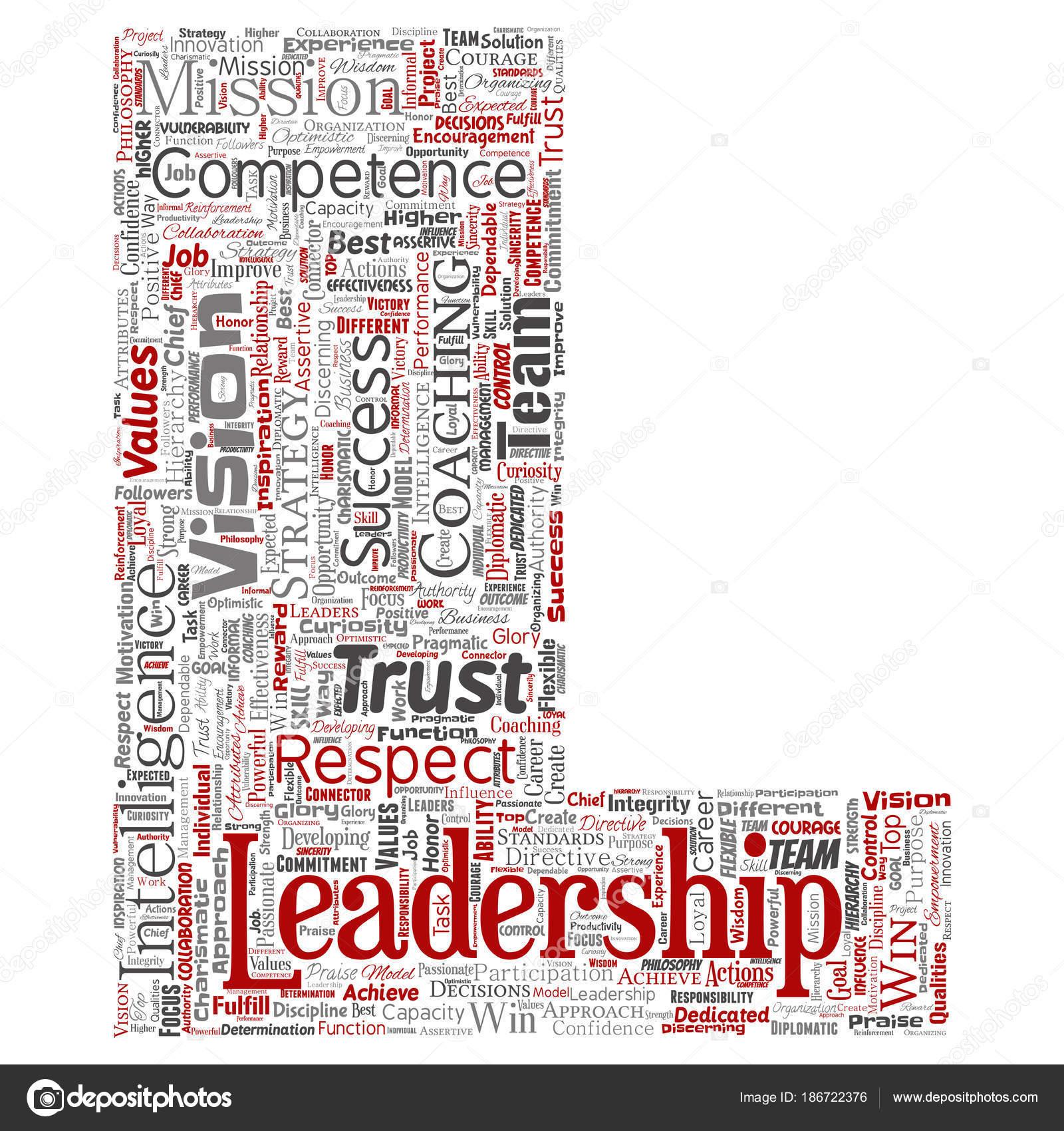 Vektor Konzeptionelle Führung Geschäftsstrategie Isoliert Management ...