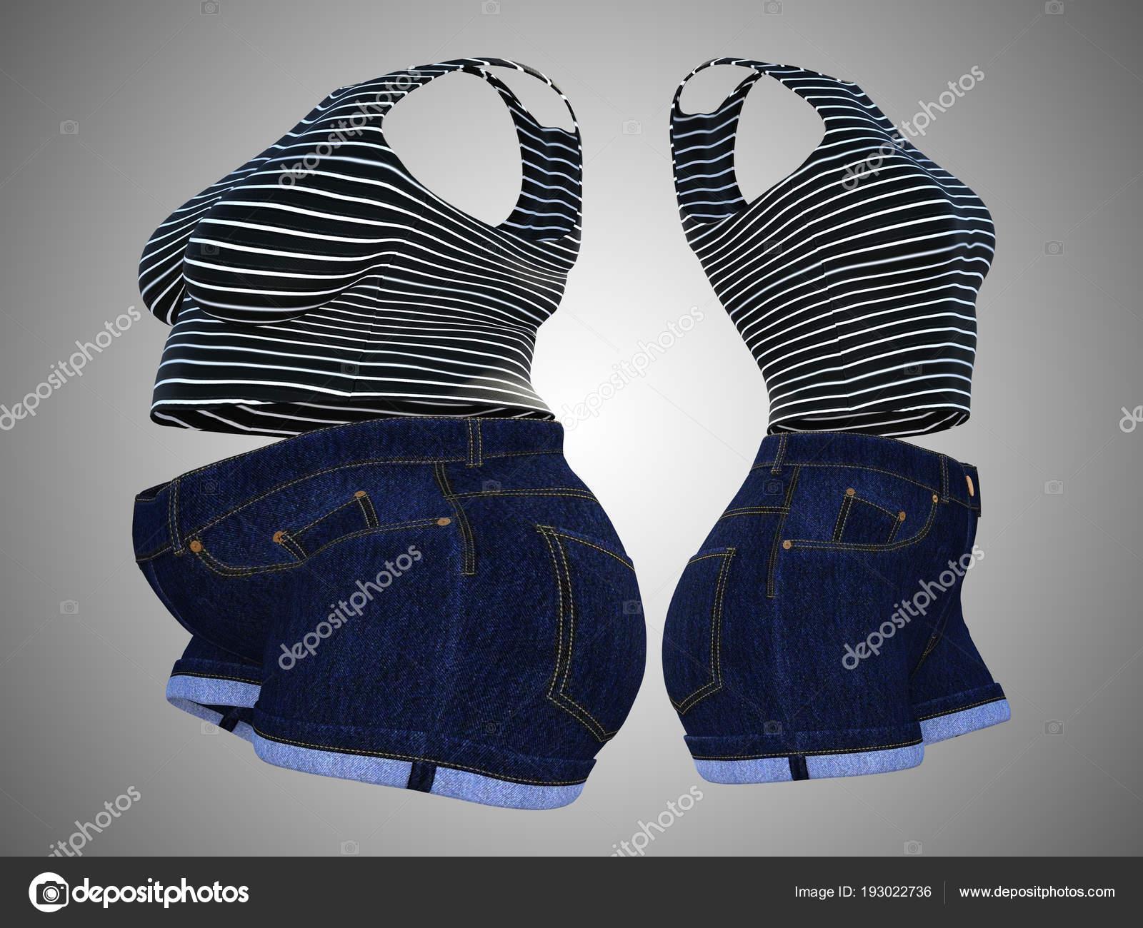21587f9c7c81 Εννοιολογική λίπος Γυναικεία ρούχα στολή vs slim fit υγιές σώμα μετά από  απώλεια βάρους — Εικόνα από ...
