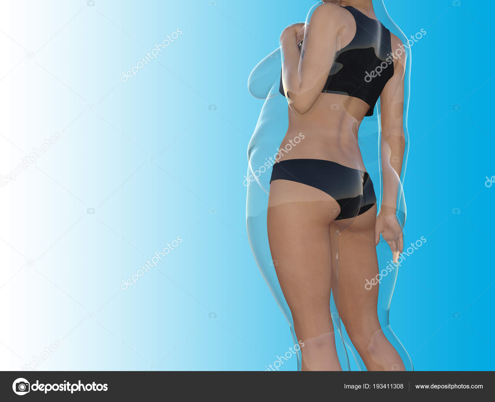 fette frau bikini