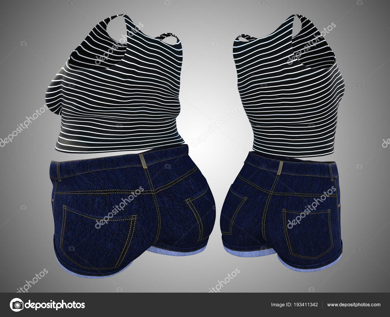 f9c6a3ebbd48 Εννοιολογική παχύσαρκα Γυναικεία ρούχα vs slim fit υγιές σώμα μετά από  απώλεια βάρους — Εικόνα από ...