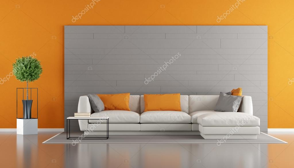 Salotto Moderno Grigio : Soggiorno moderno grigio e bianco simple soggiorni moderni