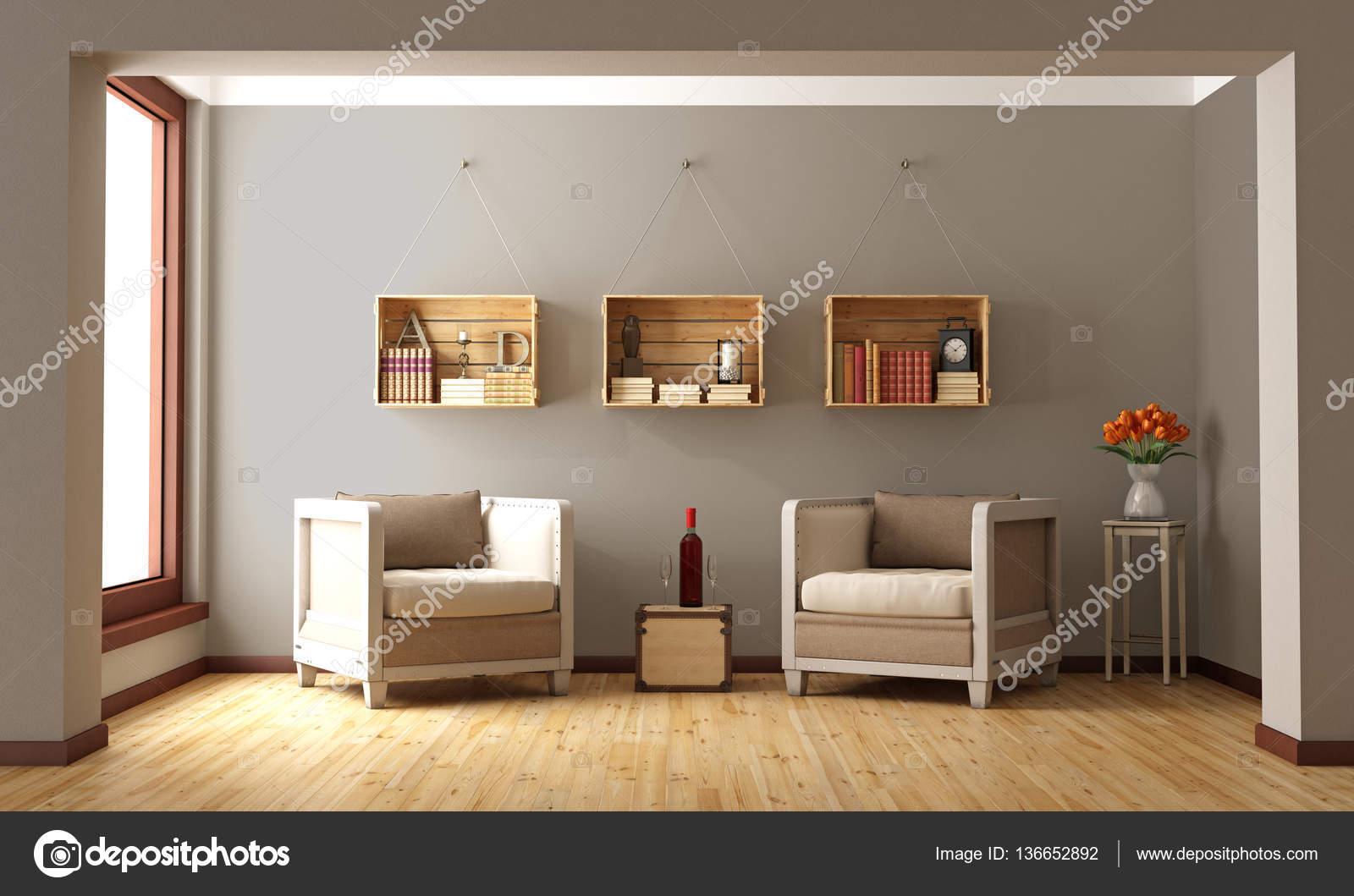 Twee Klassieke Fauteuils.Klassiek Interieur Met Twee Fauteuil Stockfoto C Archideaphoto