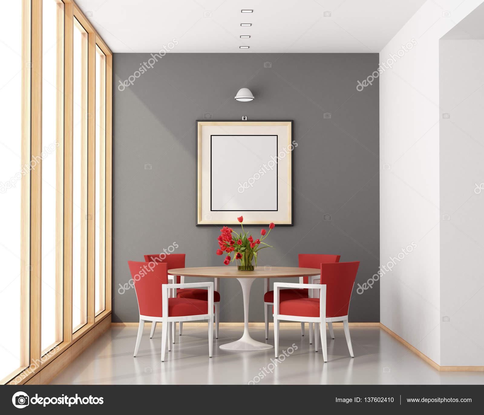 Comedor minimalista — Fotos de Stock © archideaphoto #137602410