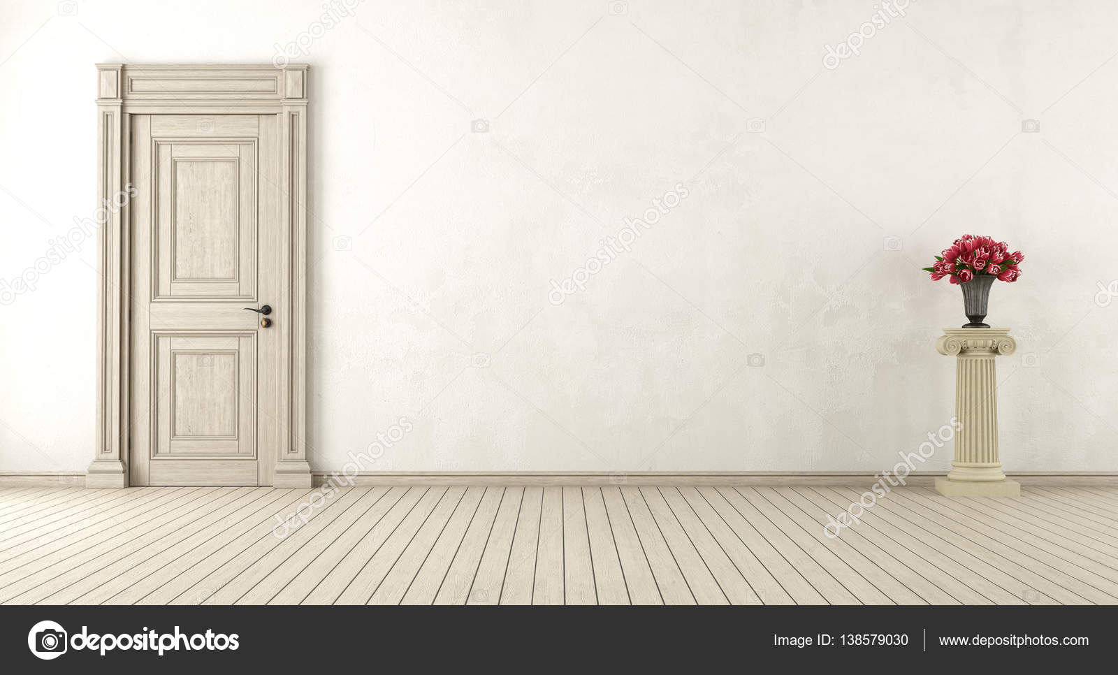 Leere Retro-Interieur — Stockfoto © archideaphoto #138579030