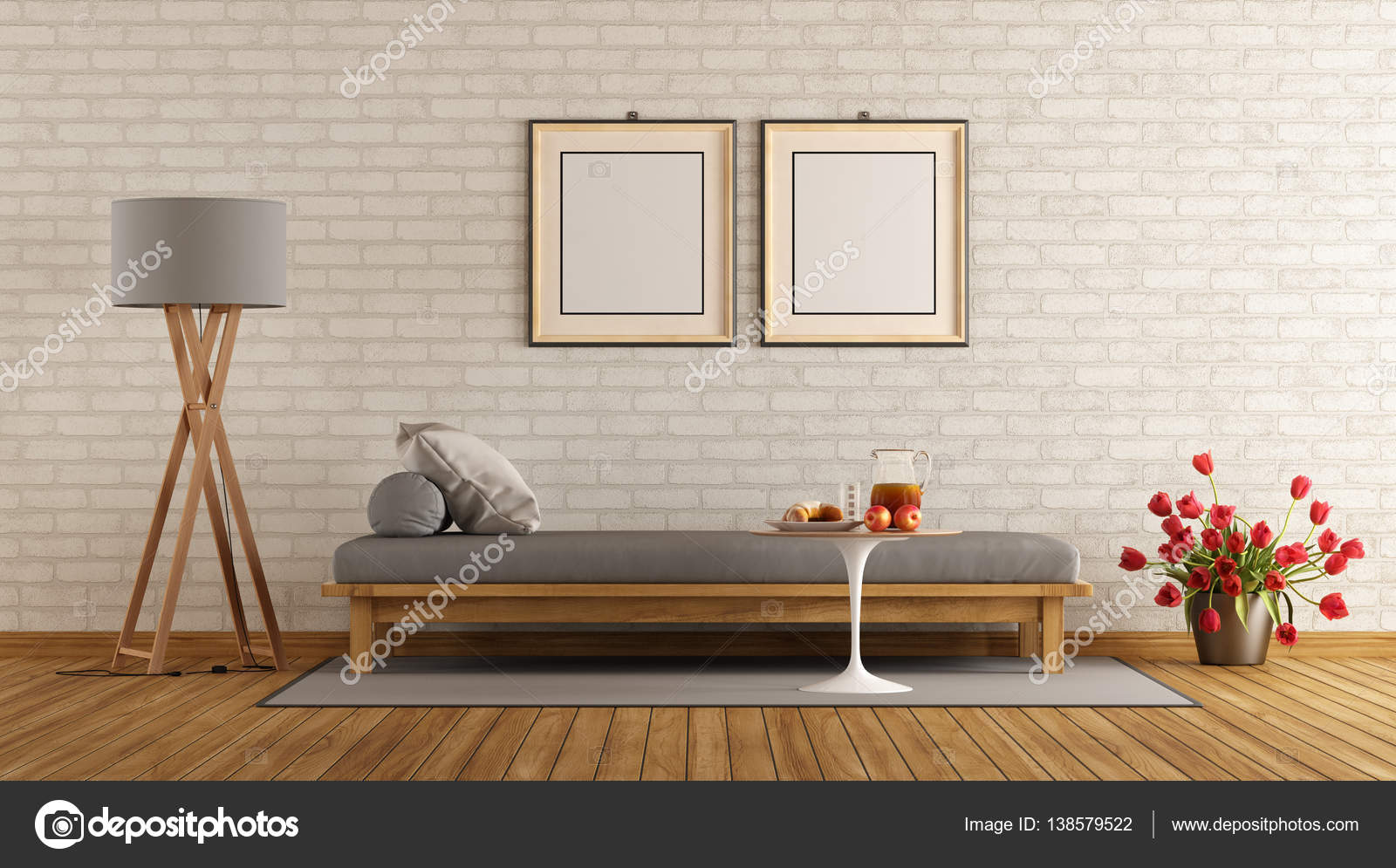 Moderne lounge met dag bed u2014 stockfoto © archideaphoto #138579522