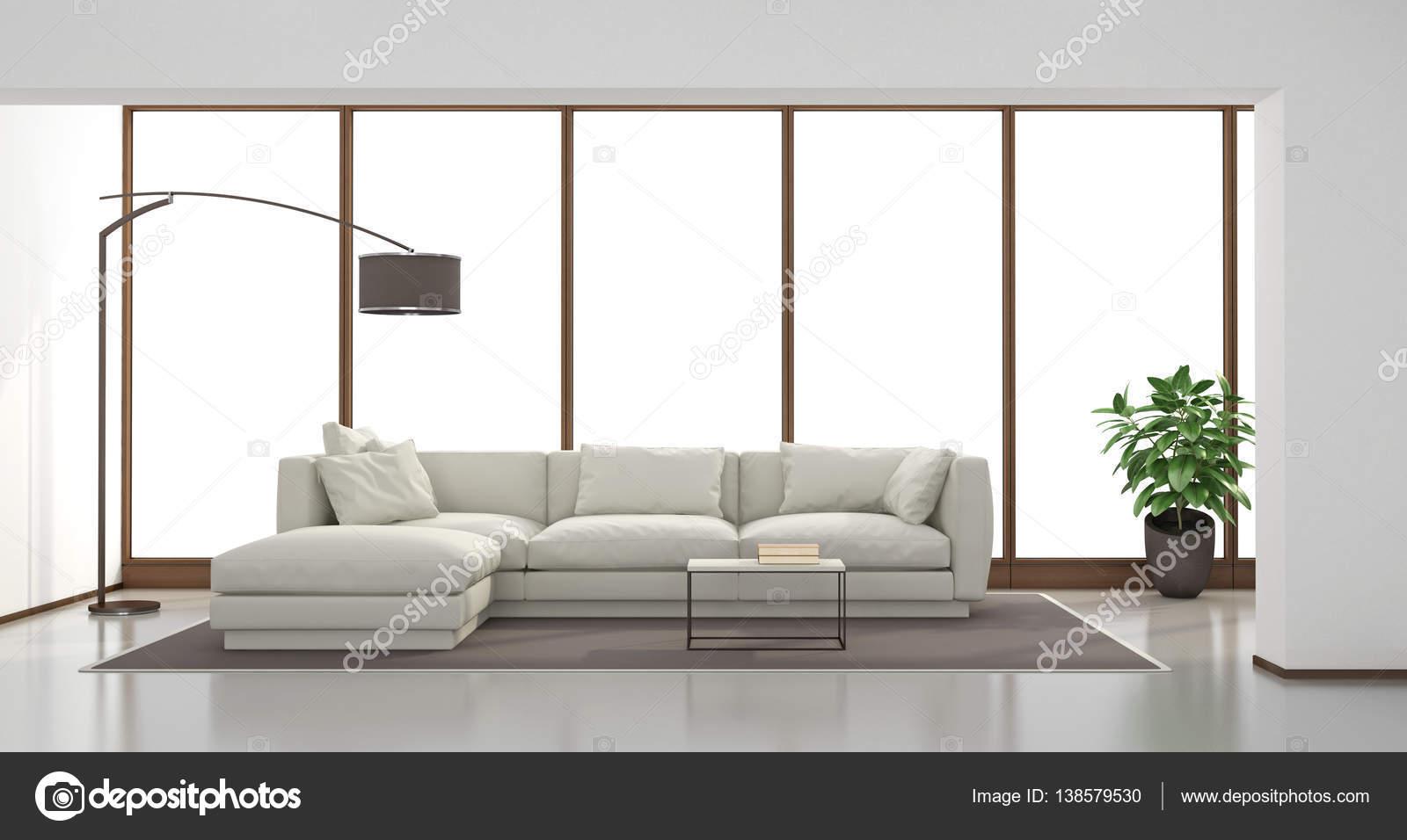 Minimalistisches Wohnzimmer Stockfoto C Archideaphoto