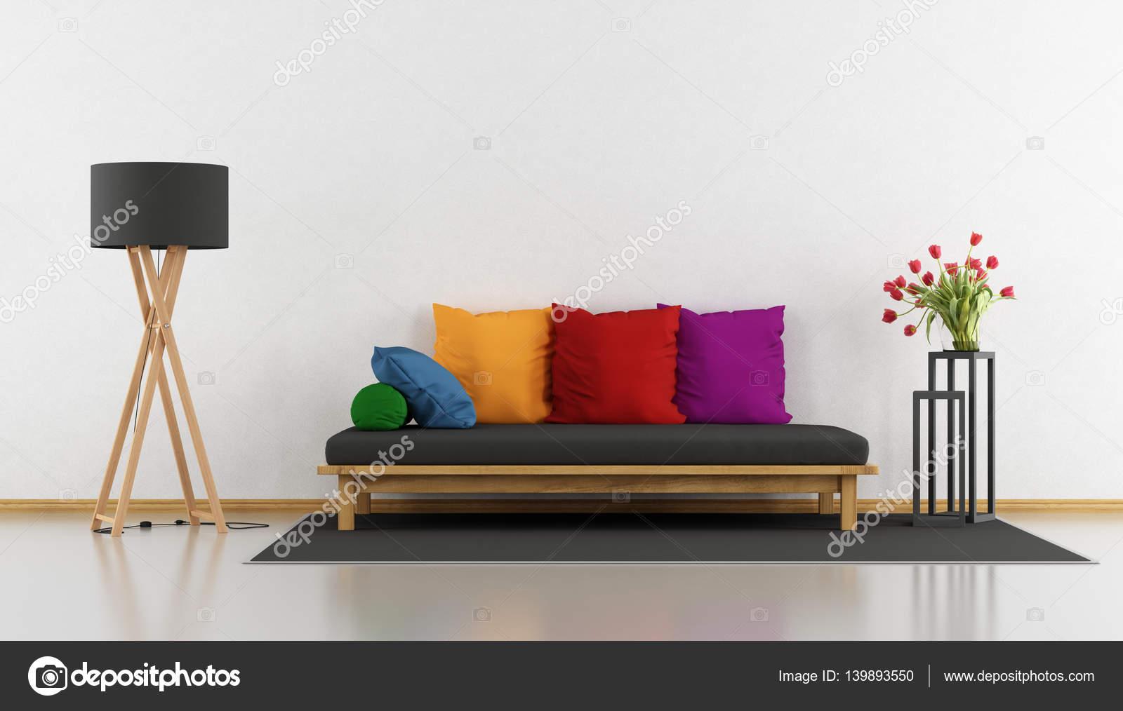 salon moderne coloré — Photographie archideaphoto © #139893550