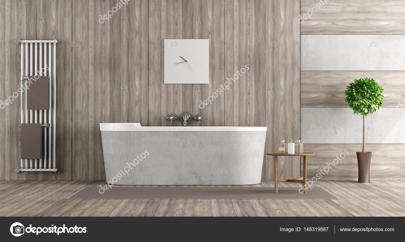Vasca da bagno in cemento perfect il pavimento in legno - Vasca da bagno in cemento ...