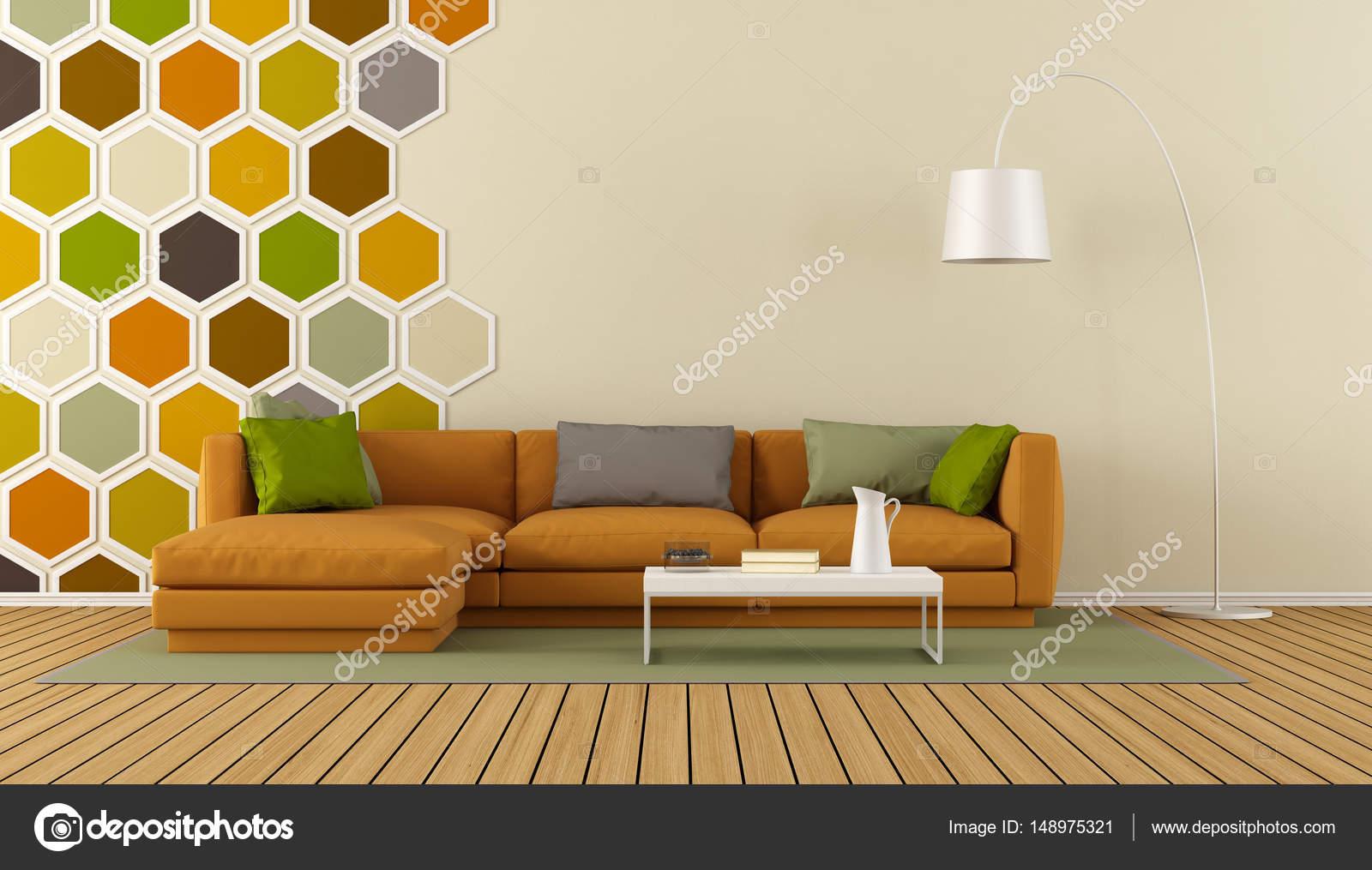 salon moderne coloré — Photographie archideaphoto © #148975321