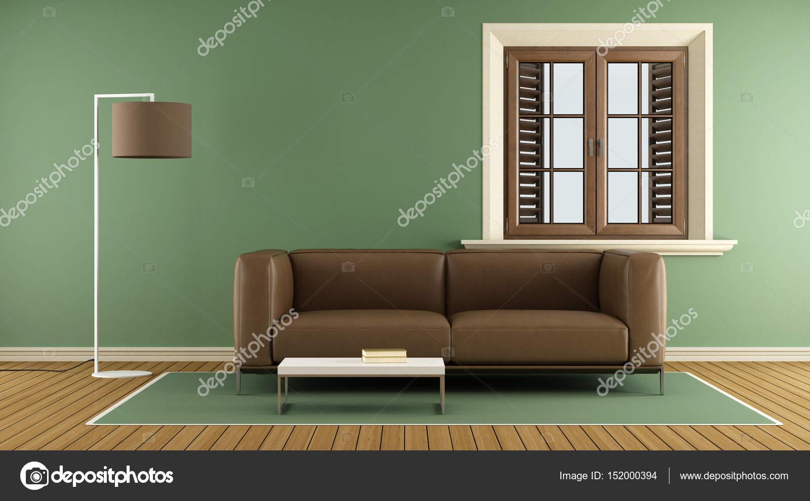 Modern Salon vert — Photographie archideaphoto © #152000394