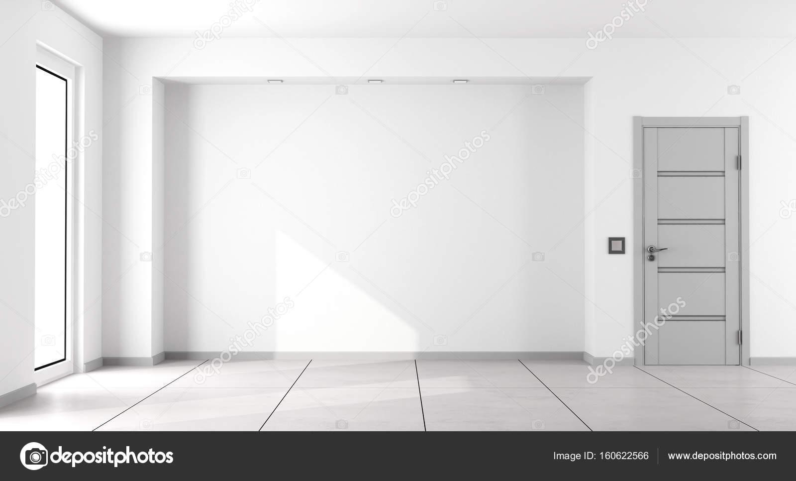 Empty white minimalist living room — Stock Photo © archideaphoto ...