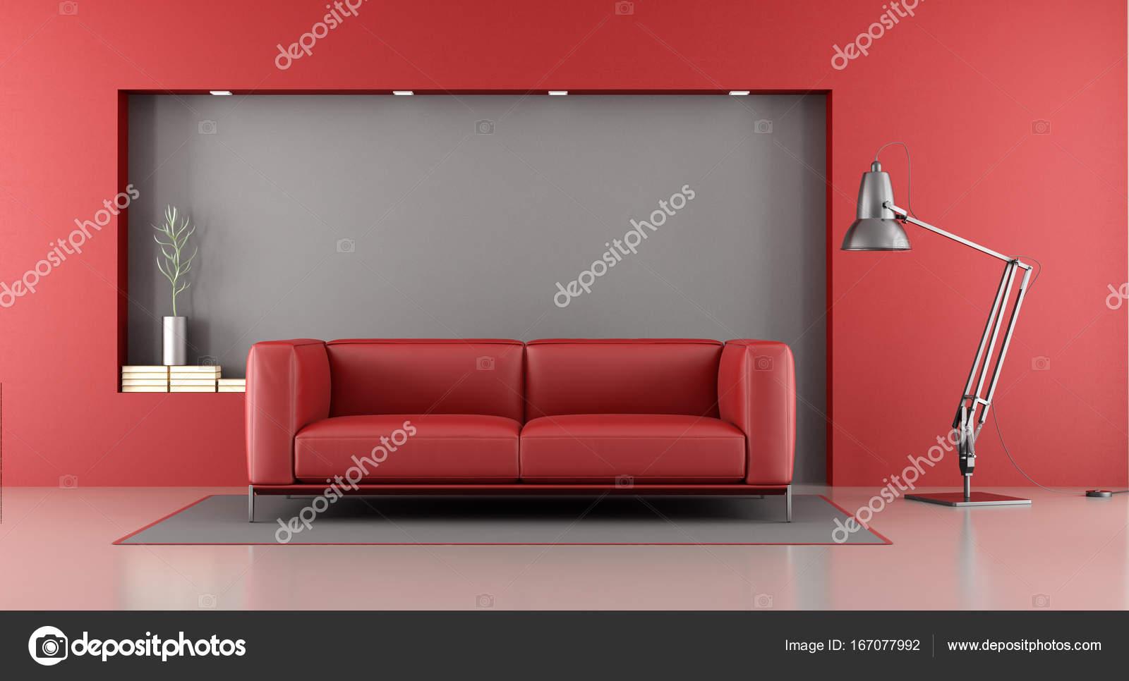 Divano Rosso E Grigio : Dettaglio del tappeto rosso e grigio divano foto immagine stock