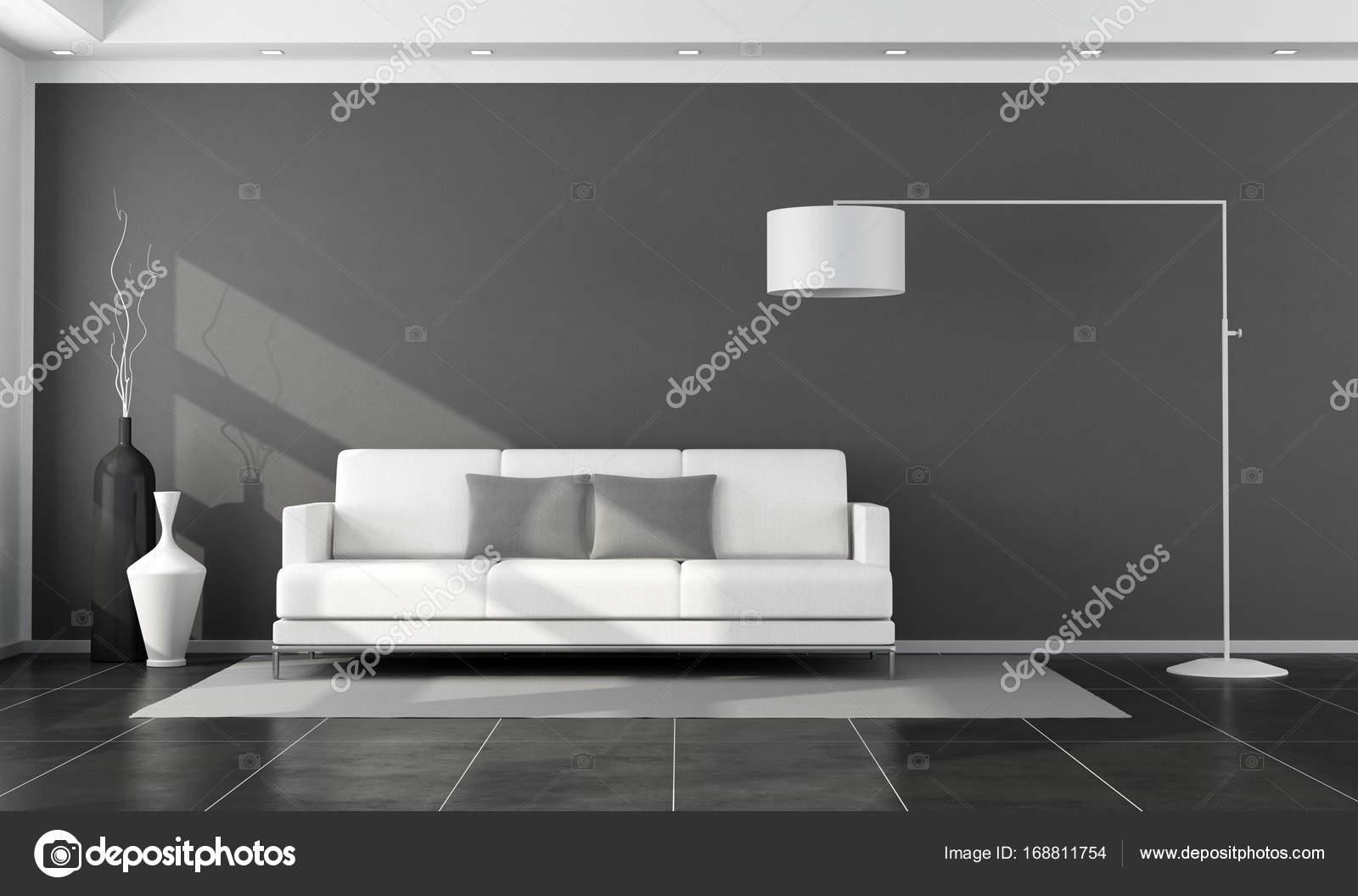 Salotto Moderno Bianco E Nero : Salotto moderno bianco e nero u foto stock archideaphoto