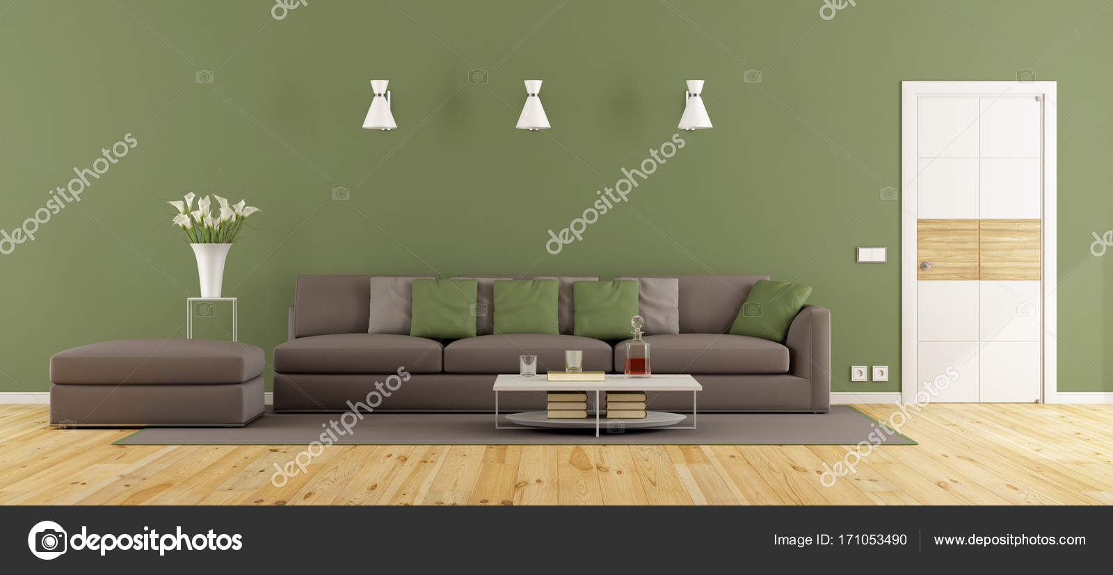 Groen In Woonkamer : Woonkamer groen grijs unieke eetkamer muur grijze woonkamer