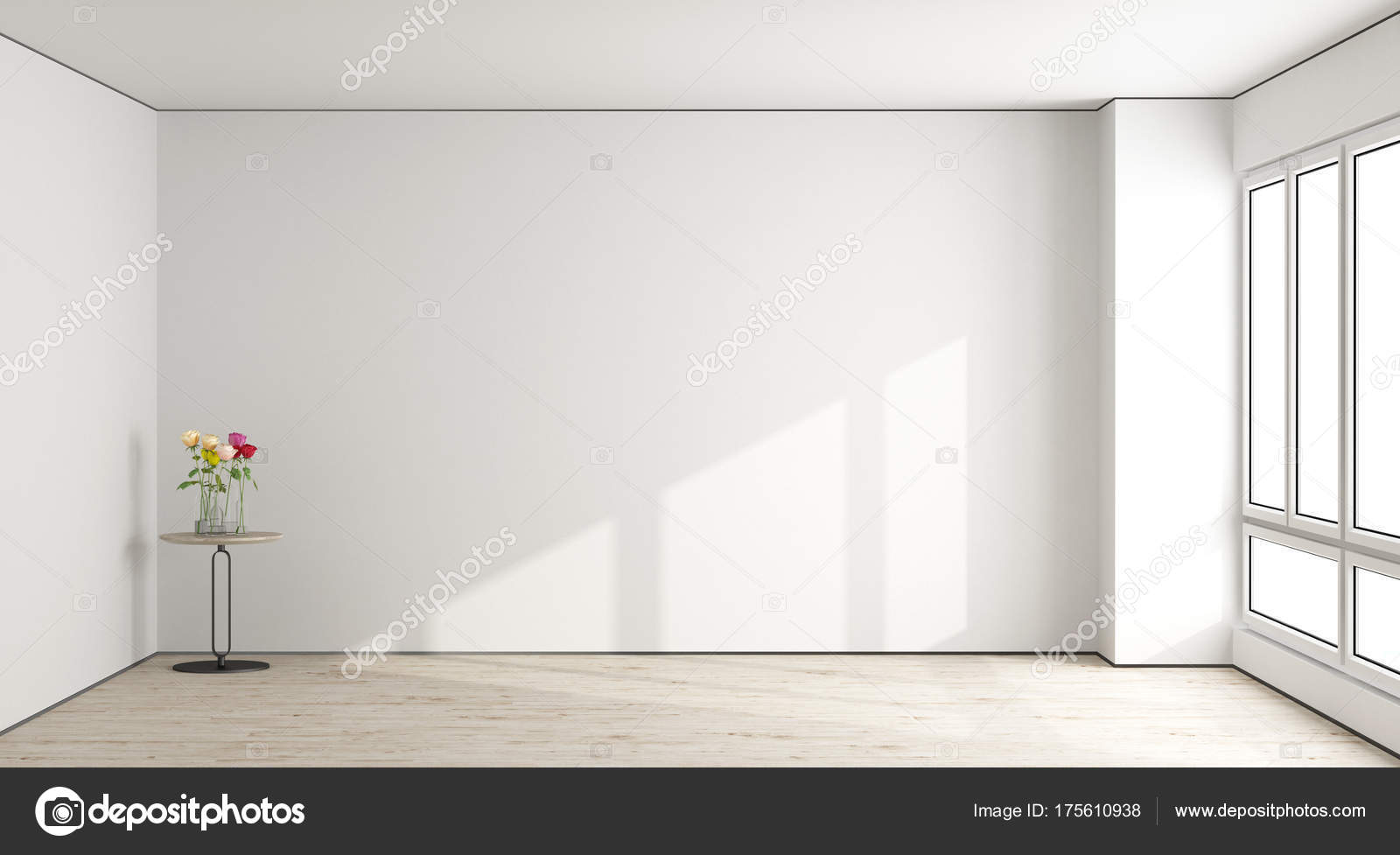 White empty living room stock photo archideaphoto What to do with an unused living room