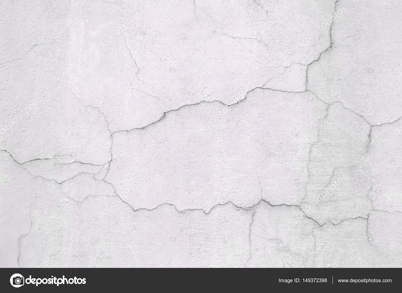 weiße wand, die betonoberfläche mit rissen — stockfoto © dmitr1ch