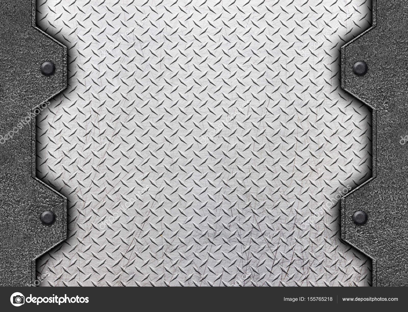 brushed steel background