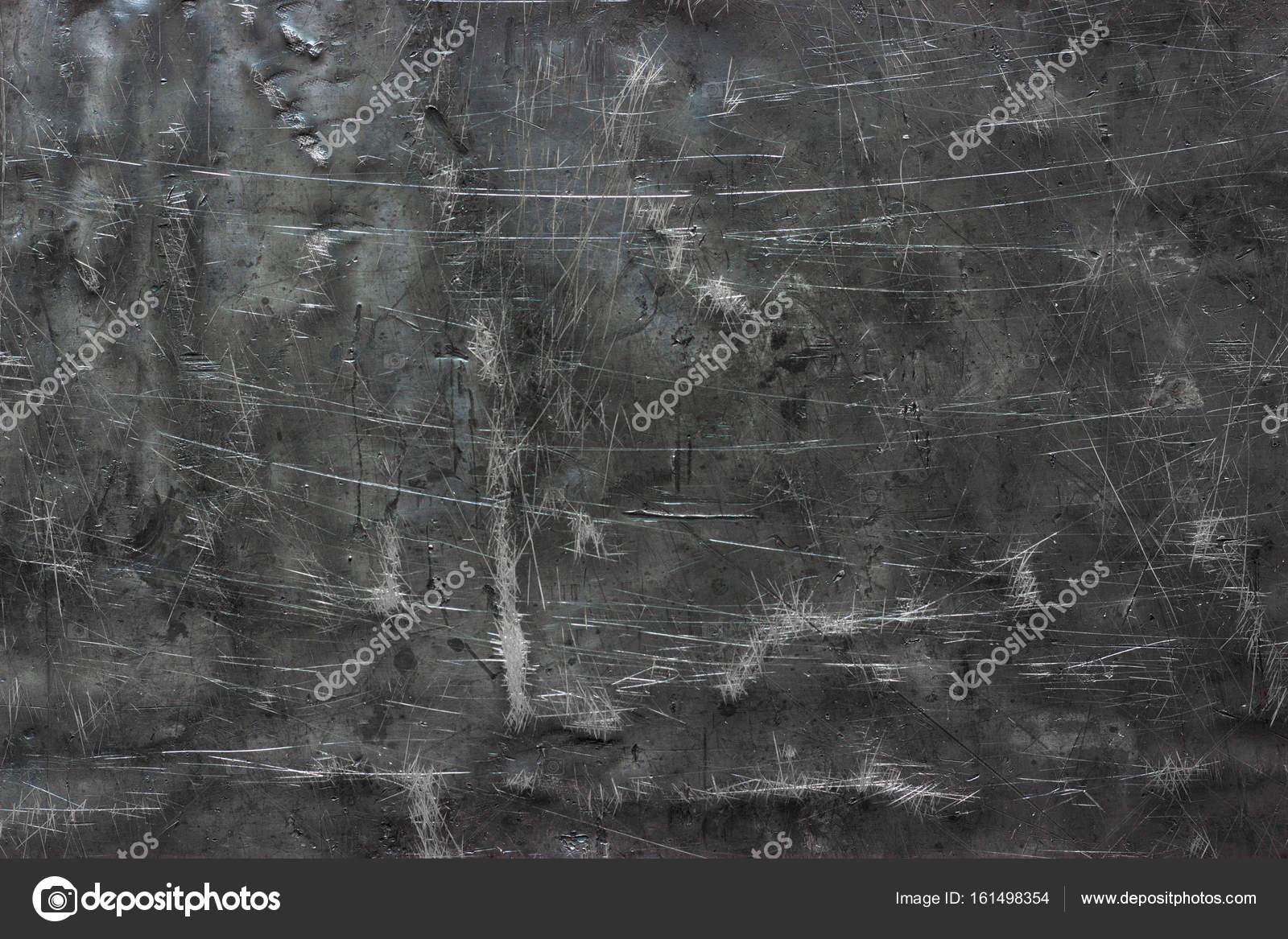 Abstract Metallic Background Dark Iron Texture Shabby Stock Photo