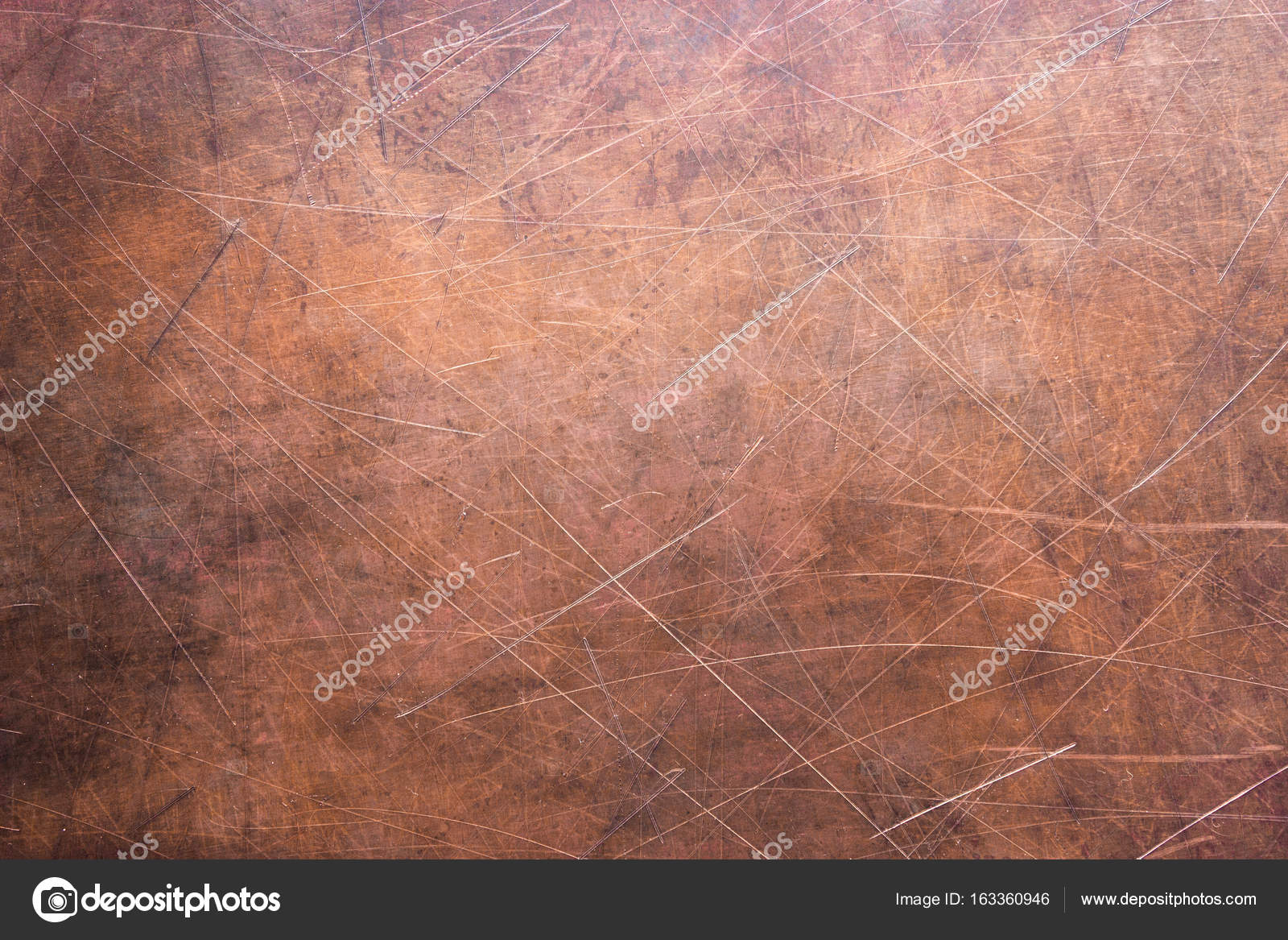 Copper Plate Texture Brushed Orange Metal Surface Photo By Dmitr1ch