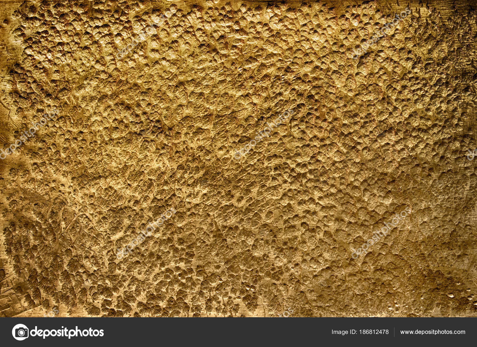 Gold metal surface, golden texture close-up as background — Stock ...