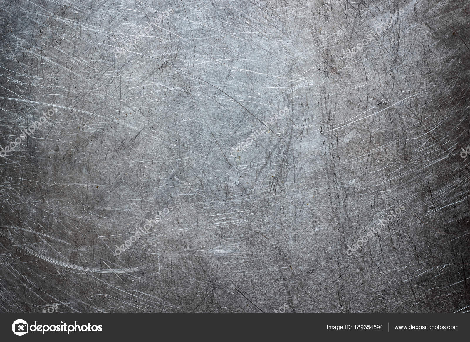 Texture of stainless steel wallpaper, background of metal with scuffs — Photo by ...