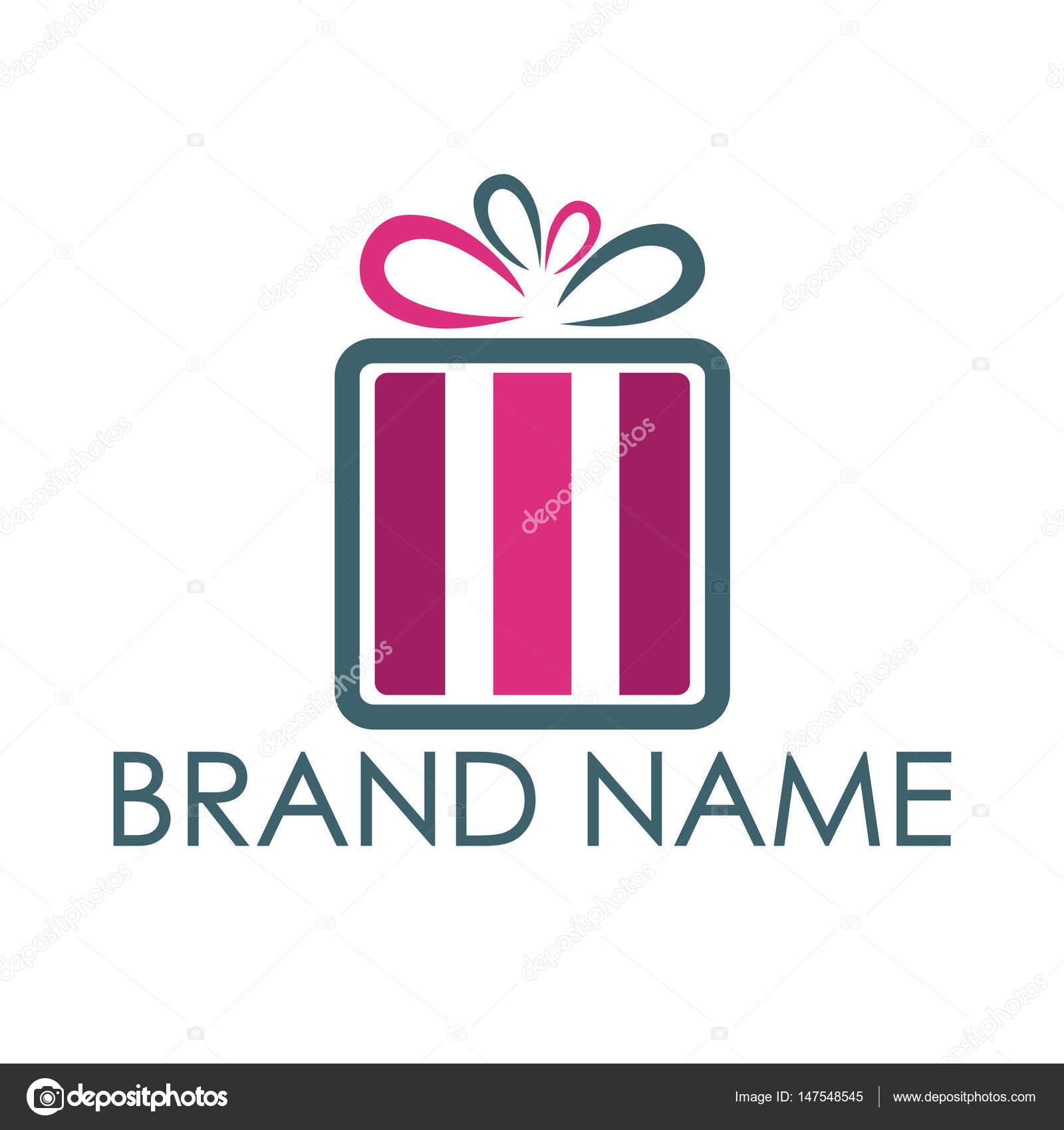 Gift Box Logo Design Gift Box Vector Logo Design Stock Vector C Irfanalvi 147548545