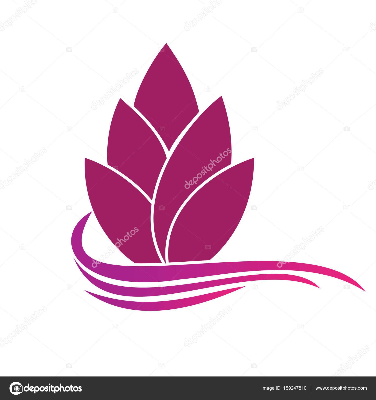Abstrakte Blume Logo Vorlage. Floral-Logo. Spa-Logo. Flower Shop ...