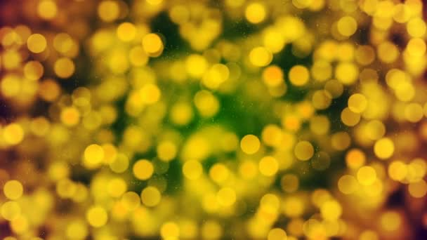 HD Loopable pozadí s pěkné žluté bokeh