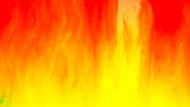 Hd Loopable Background With Nice Abstract Flame
