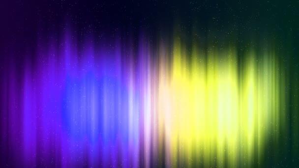HD Loopable-háttér-val szép északi fény