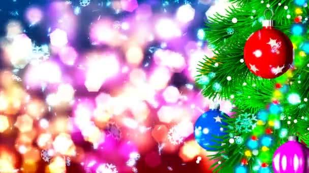 Immagini Di Natale Hd.Hd Loopable Background Con Palle Di Natale Bello
