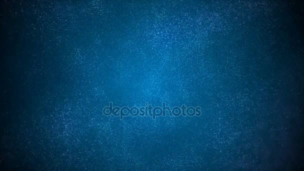 Abstract Loopable Background with nice blue particles