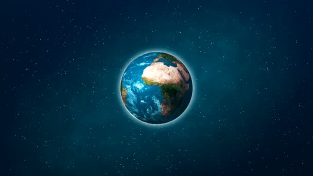 Realistic Planet Earth from space