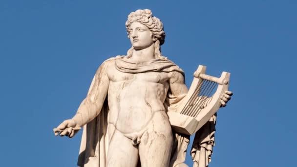 classic statue of Greek god Apollo
