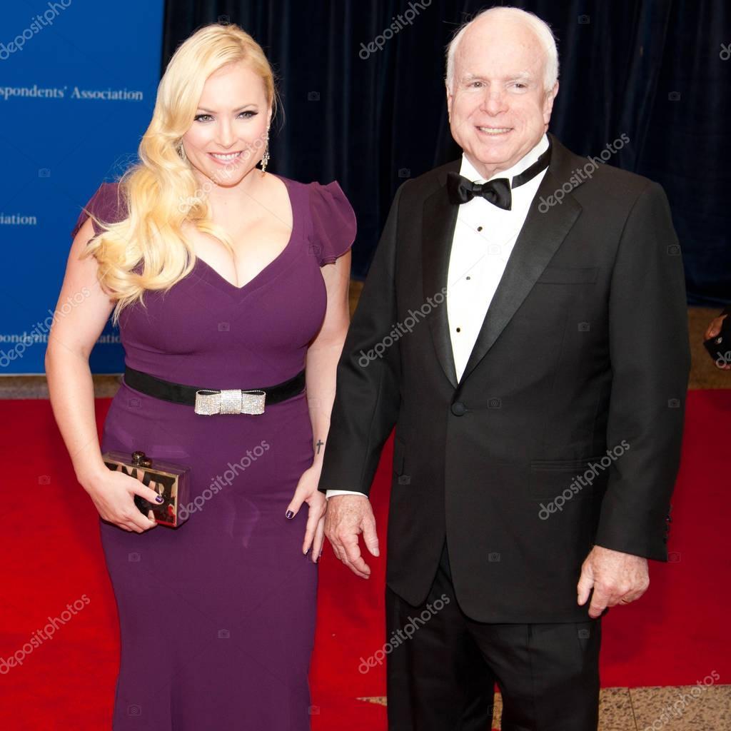 Meghan Mccain Stock Photos And Pictures: John McCain, Meghan McCain